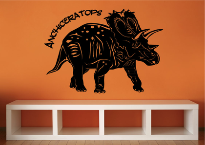 Wandtattoo - Dinosaurier Anchiceratops