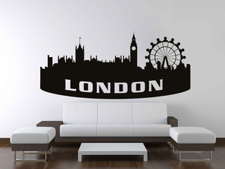 Wandtattoo - Skyline London 2