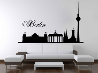Wandtattoo - Skyline Berlin 2