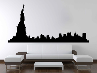 Wandtattoo - Skyline New York