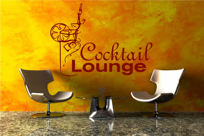 Wandtattoo - Cocktail Lounge