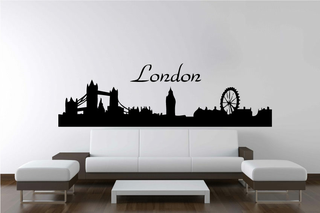 Wandtattoo - Skyline London 3