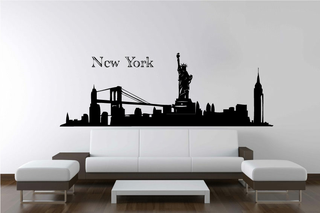 Wandtattoo - Skyline New York 2